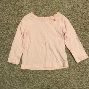🎉5 for $25🎉 Carter's pink top with bow